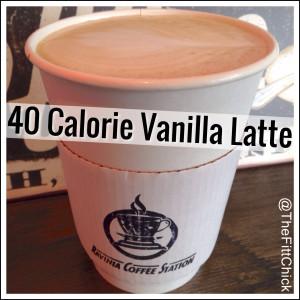 40 Calorie Latte