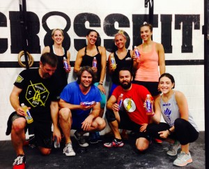 Protein2o at CrossFit