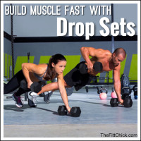 Drop Sets to Build Muscle