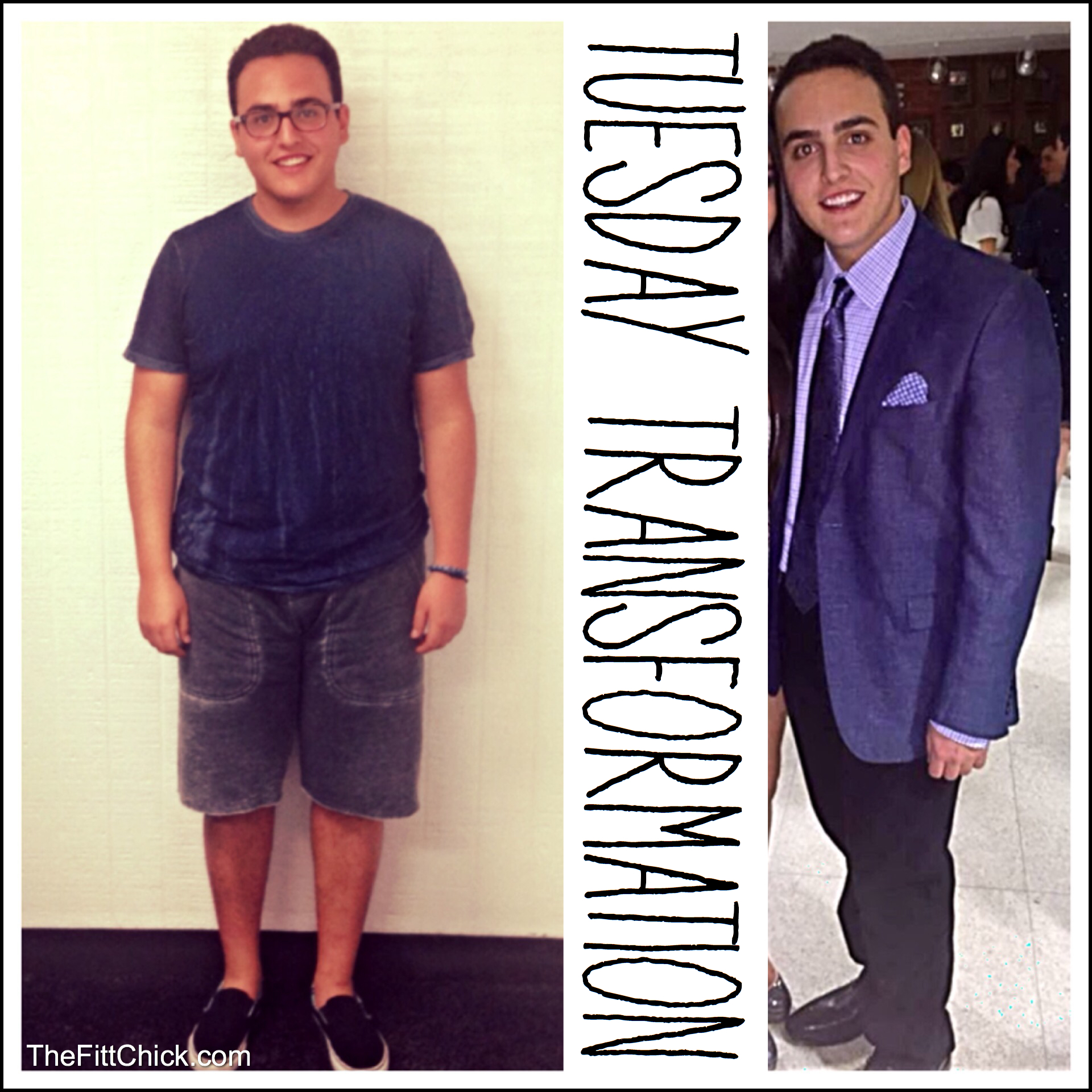 Inspirational Teenage 30 Pound Weight Loss Transformation
