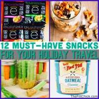 12 Portable Travel Snacks