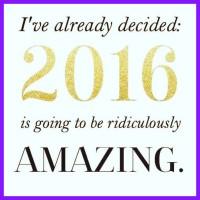 2016 inspiration