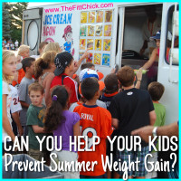 kids summer weight gain