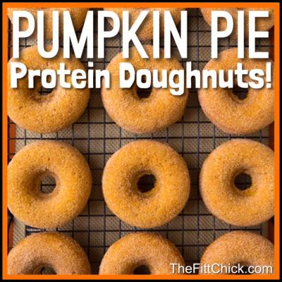 Pumpkin Pie Doughnts