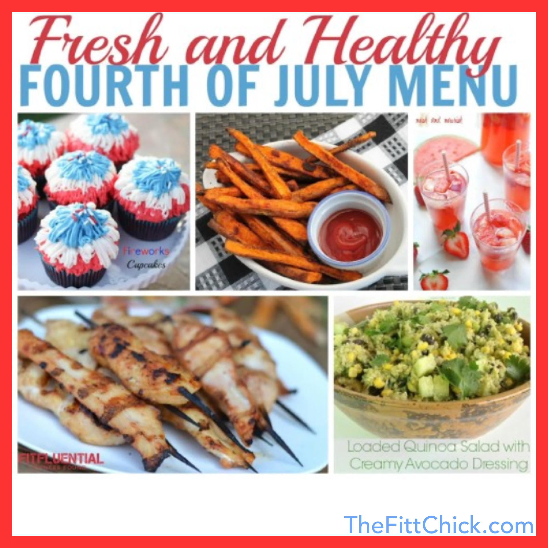 27 Healthy 4th Of July Recipes!