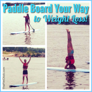 Paddle Board Your Way to Weight Loss!