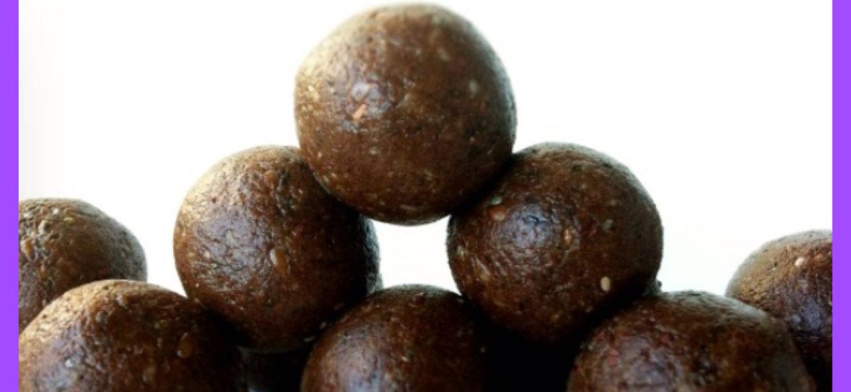 Double Chocolate Protein Bites