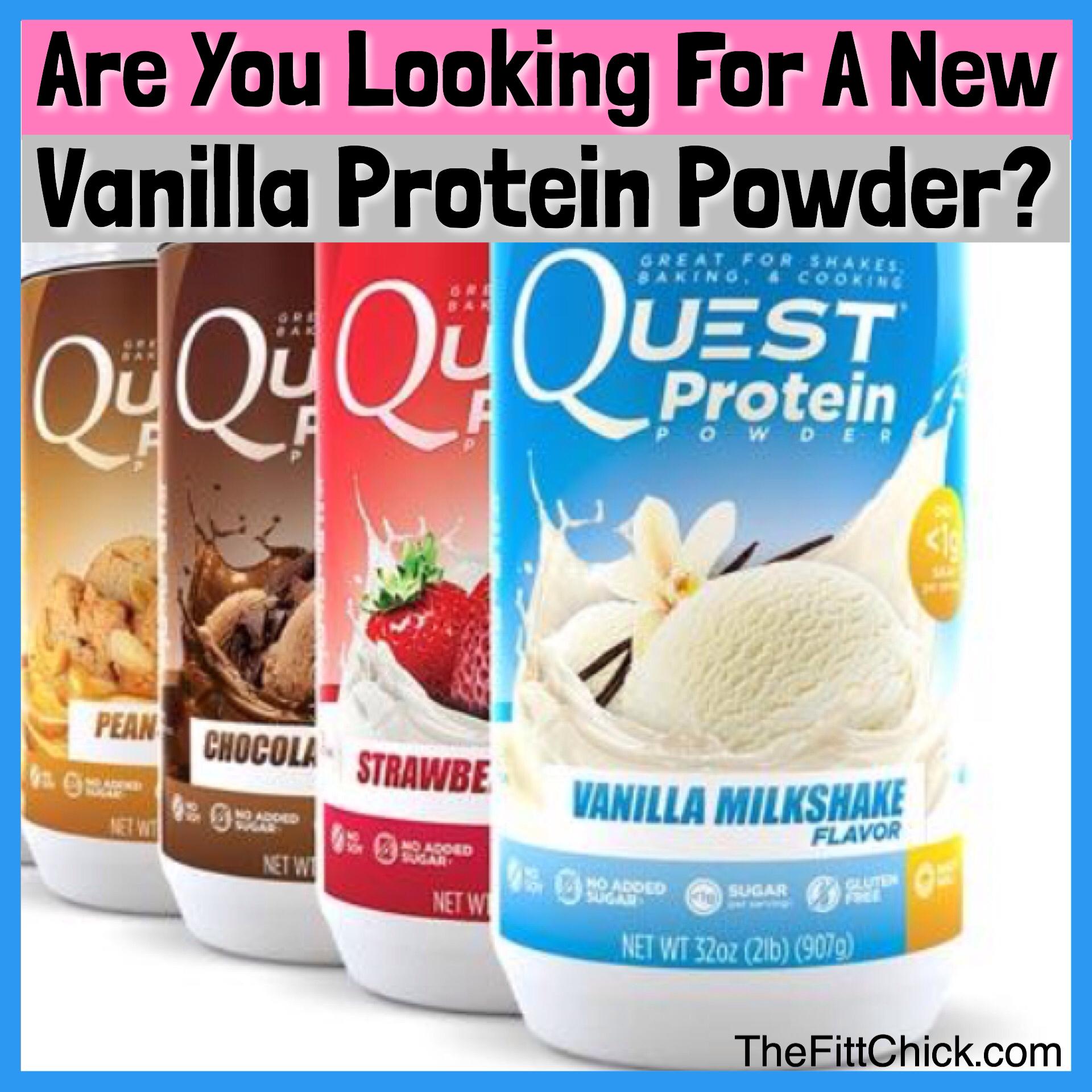 The Best New Vanilla Flavored Protein Powder