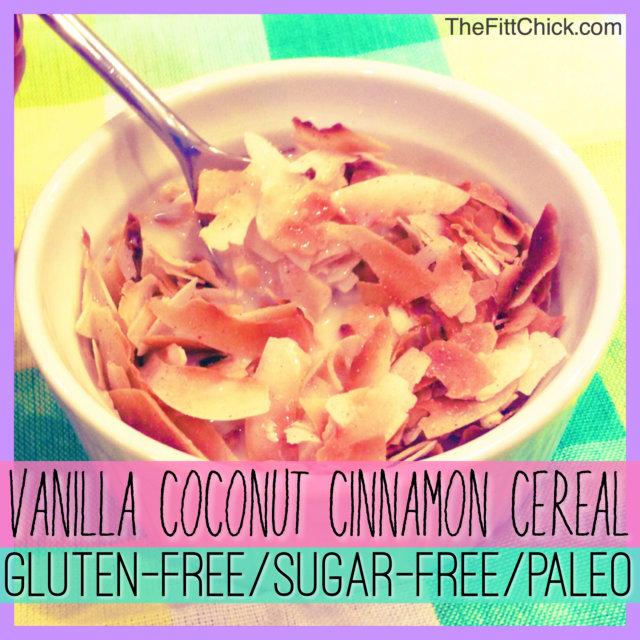 Vanilla Coconut Cinnamon Cereal