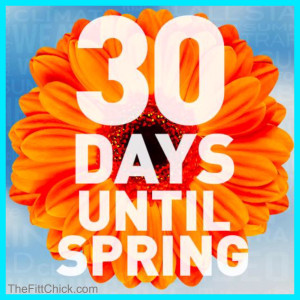30 Days to Spring Challenge