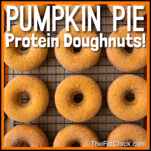 Pumpkin Pie Doughnts