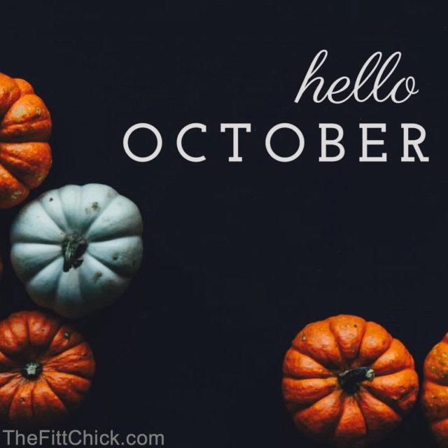 Hello October 2018