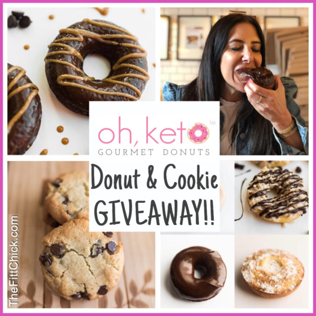 Oh, Keto Donuts! Giveaway!