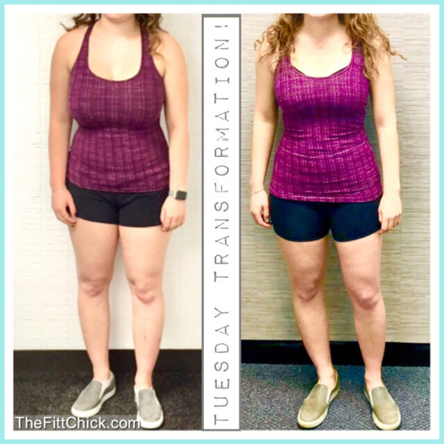 Carly's Post College Weight Loss Journey!